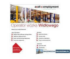 Operator Wózka Widłowego - Grodzisk Mazowiecki