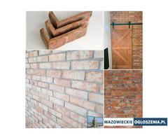 Płytki ze starej cegły płytki z cegły lico środki narożniki płytka podłogowa cegła