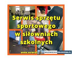 Serwis sprzętu sportowego w siłowniach szkolnych Warszawa