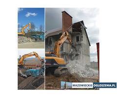 Rozbiórka Wyburzenia Kruszenie betonu Recykling GruzoBeton