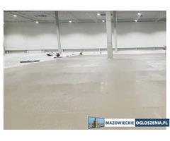 Posadzka przemysłowa DST wylewka betonowa HALA MAGAZYN GARAŻ PLACE PODJAZDY