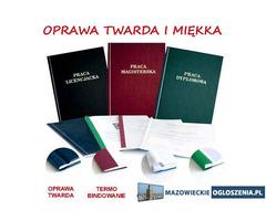 Oprawa prac i dokumentów