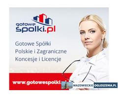 Gotowe Spółki z VAT EU Łotewska Słowackie Czeskie w Anglii w Hiszpanii w Niemczech Bułgarii Koncesje