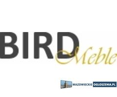 Praktyczne łóżko z pojemnikiem BirdMeble