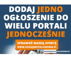 Usługa dodawania ogłoszeń - Reklama w internecie