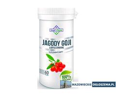 JAGODY GOJI LIOFILIZOWANE 670 mg, 60 kapsułek PREMIUM / Soul-Farm