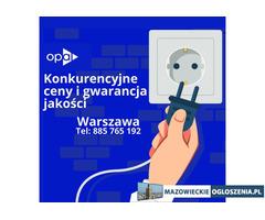 Fachowe usługi elektryczne w Warszawie i jej okolicach