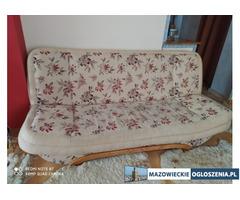 Rozkładana kanapa + 2 fotele