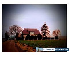 Sprzedam om z działka 3000 m2 z możliwością dokupienia 3 hektarów