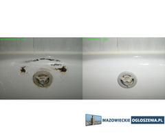 Naprawa wanny brodzika umywalki zlewu. REFERENCJE. THS - Renotech