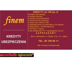 Kredyty do 150 tys. zł prawie dla każdego