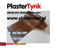 PlasterTynk  - Elastyczna deska elewacyjna , DARMOWY ZESTAW PRÓBEK