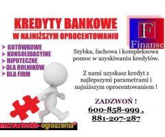 Kredyty bankowe z najniższym oprocentowaniem !