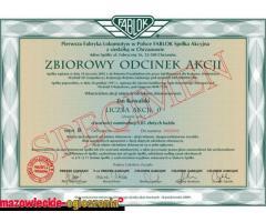 Zainwestuj w Akcje ZAK-Azoty Kędzierzyn i ZACH-Azoty Chorzów