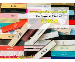 Perfumy 33ml już od 9,99 zł
