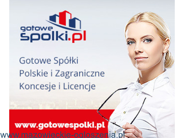 GOTOWA SPÓŁKA CZESKA, NIEMIECKA, SŁOWACKIE, ŁOTEWSKIE, BUŁGARSKIE, WĘGIERSKIE, 603557777