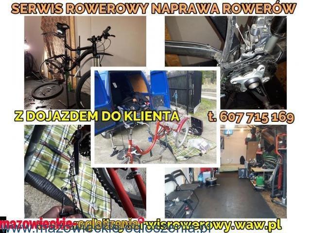 Serwis Mobilny ,Naprawa Rowerów Konstancin Warszawa >> Naprawa rowerów bez wychodzenia z domu