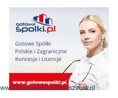 Sprzedam Fundacje, Gotowe Spółki Niemieckie, Bułgarskie, Czeskie, Słowackie, KONCESJE OPC, Włochy