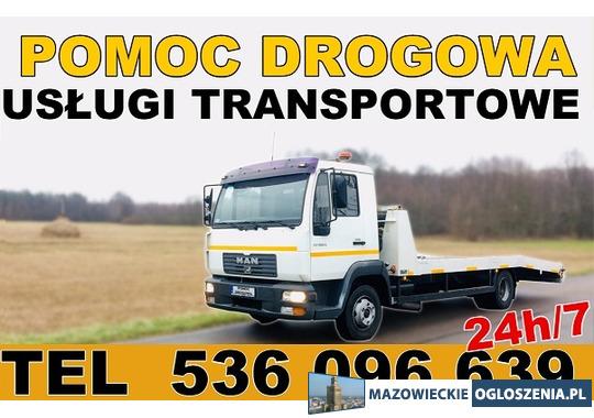 Autolaweta - Transport 3t 4t 5t 6t - Pomoc Drogowa - Przewóz maszyn i samochodów - Tobano Wrzesiński