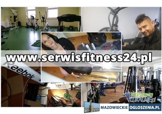 Serwis Fitness - Dojeżdżamy do Klienta - Siedź w domu i zadzwoń 607715169
