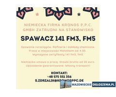 Spawacz 141 fm3/fm5 Mannheim od 4.05.