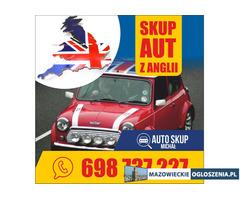 Skup anglików, skup Aut z Anglii, skup aut z całego Mazowieckiego, Najwyższe Ceny !
