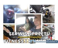 Serwis sprzętu fitness, rowerów / Utylizacja, wywóz niepotrzebnego sprzętu sportowego Warszawa