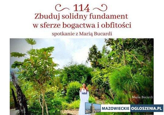 Transmisja online z Maria Bucardi