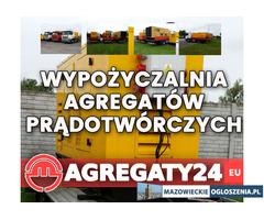 Agregat prądotwórczy wynajem Warszawa